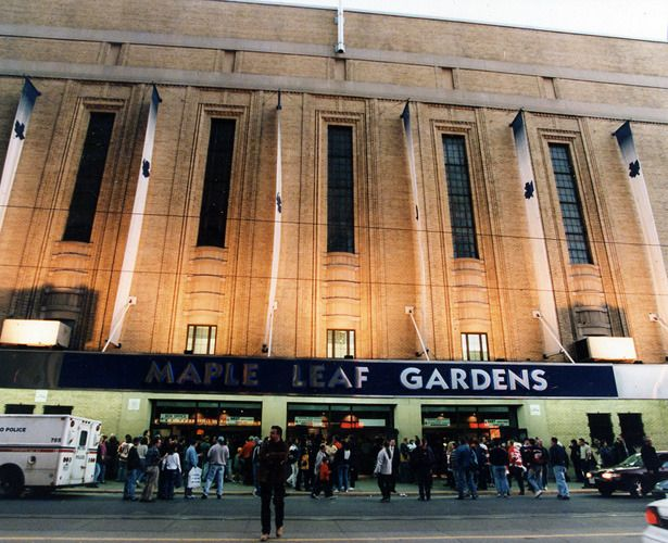 The Cathedral. Maple Leaf Gardens - Toronto