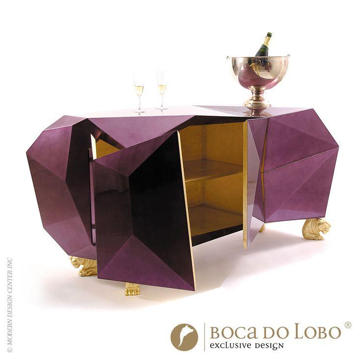 Boca Do Lobo Amethyst Sideboard Limited Edition