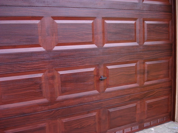 Faux Wood Painting For Garage Doors | Faux Wood Finish