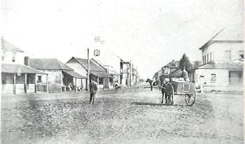 Thompson Square, Windsor, NSW 1870's