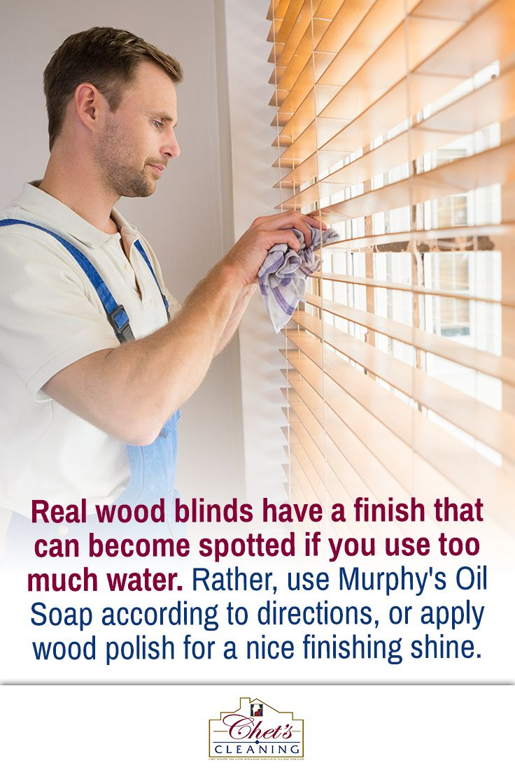 How to Clean Your Blinds Blinds, Cleaning wood blinds