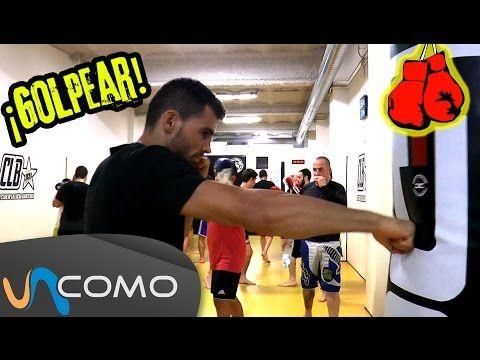Cómo golpear el saco de boxeo - YouTube