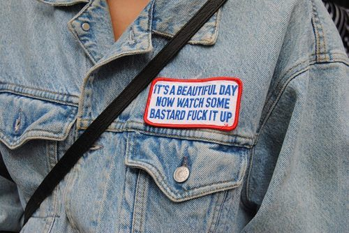 Pretty much.: Fashion, It S, Style, Stuff, Quotes, Beautiful, Funny, Denim, Patch
