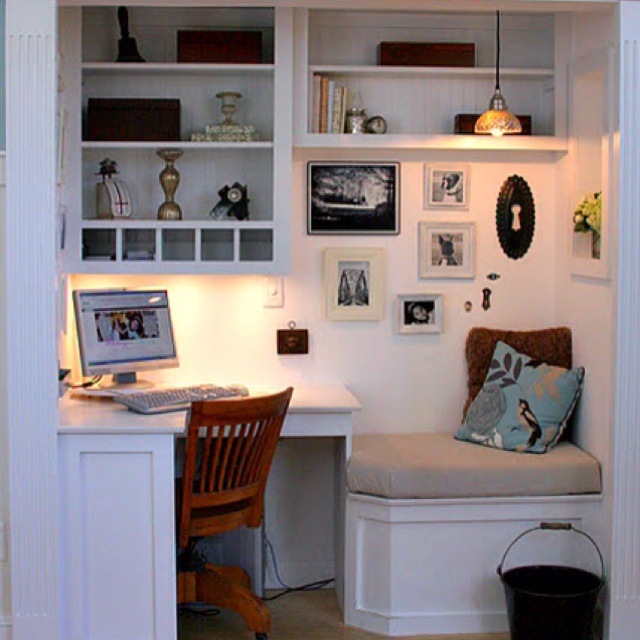 Kitchen Computer Desk Ideas For The New House Pinterest