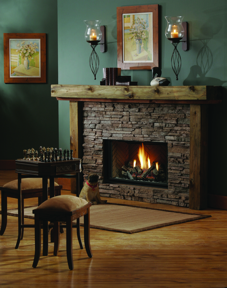 Create an elegant and warm focal point in your home for Design your own fireplace