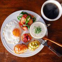 栄養満点♡ヘルシーバランス朝食はワンプレートでつくりましょ*