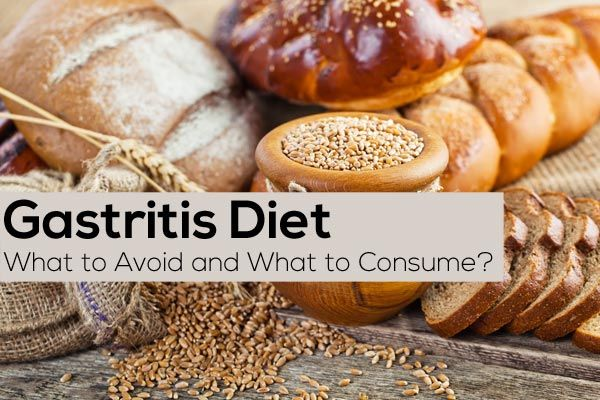 Gastritis Diet - What Foods To Avoid And What Foods To Consume?