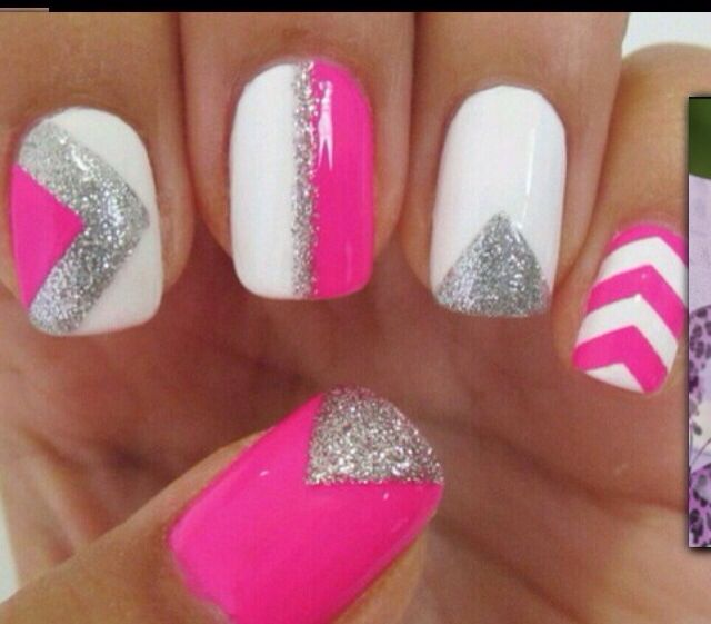 130 best images about Nail Art on Pinterest | Gold nails, Bright ...
