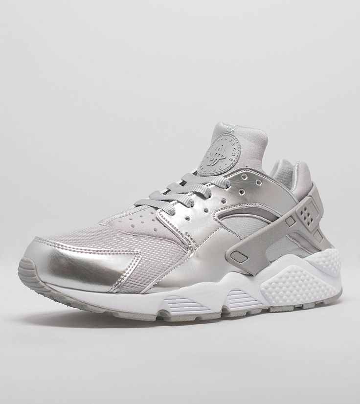 Nike Huarache Silver