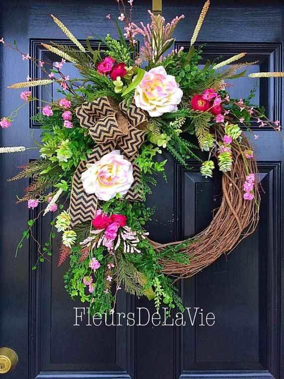 Hey, I found this really awesome Etsy listing at https://www.etsy.com/listing/222877540/spring-wreath-spring-wreath-summer