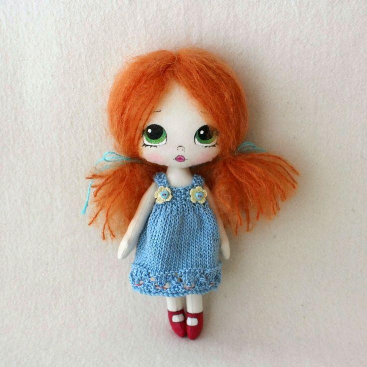 """En el blog """"Ginger Melon"""" se pueden encontrar verdaderas cucadas en muñequitas…"""