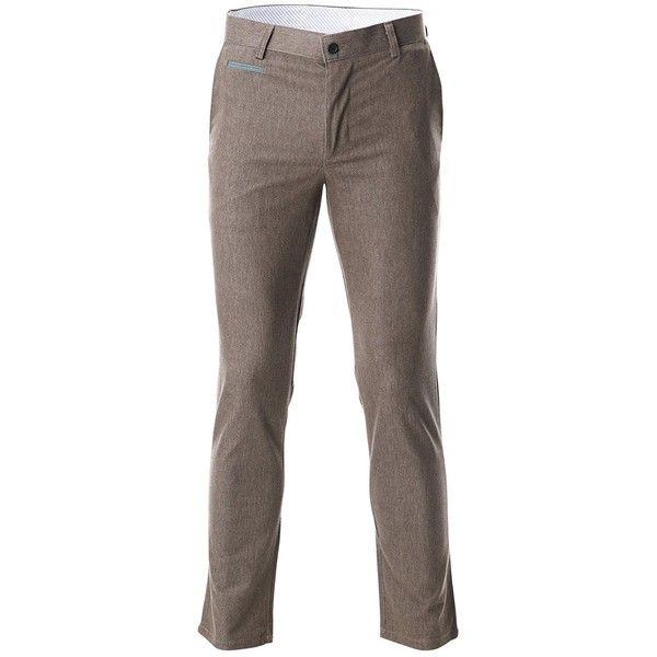 FLATSEVEN Mens Slim Fit Chino Pants Trouser Premium Cotton ($20) ❤ liked on Polyvore featuring men's fashion, men's clothing, men's pants, men's casual pants, mens cotton pants, mens wide leg pants, mens slim fit pants, mens slim pants and men's casual cotton pants