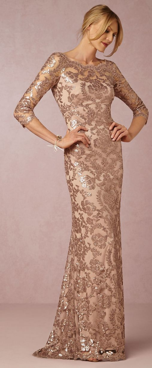 10 Sparkly Mother of the Bride Dresses That Are Totally Wow Worthy