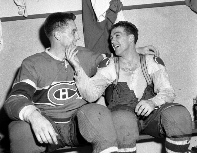 Jean beliveau & Henri Richard