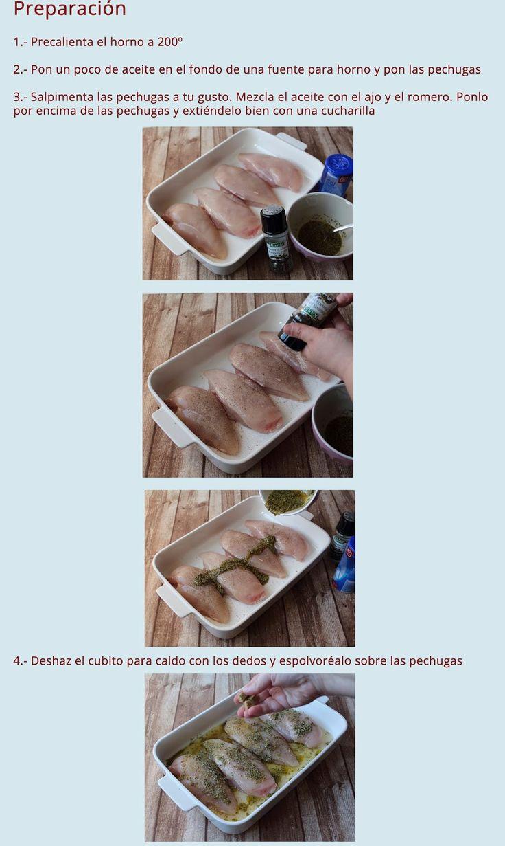 Pechuga de Pollo al Horno Truco Para Pechugas Jugosas | Cocinar en casa es facilisimo.com