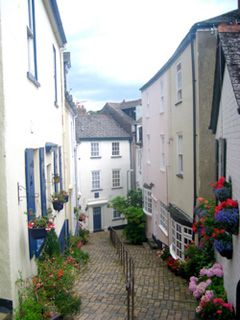 Dartmouth in Devon, England