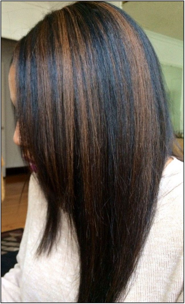 1000 Ideas About Highlights For Black Hair On Pinterest Of Hair