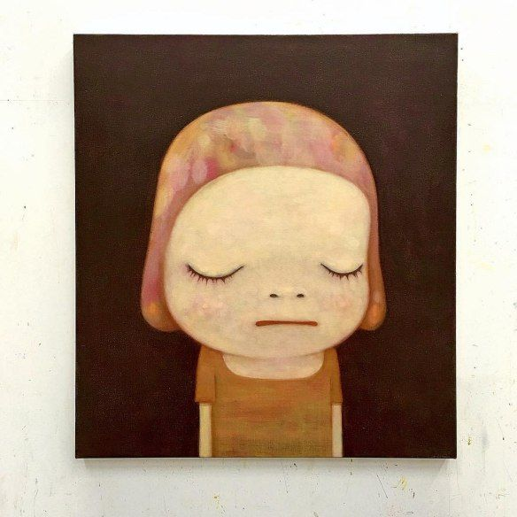 "Yoshitomo Nara's ""New Works"" Characterizes Alienation, Anger and Curiosity | Hi-Fructose Magazine"