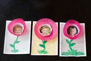 cupcake wrapper flower craft