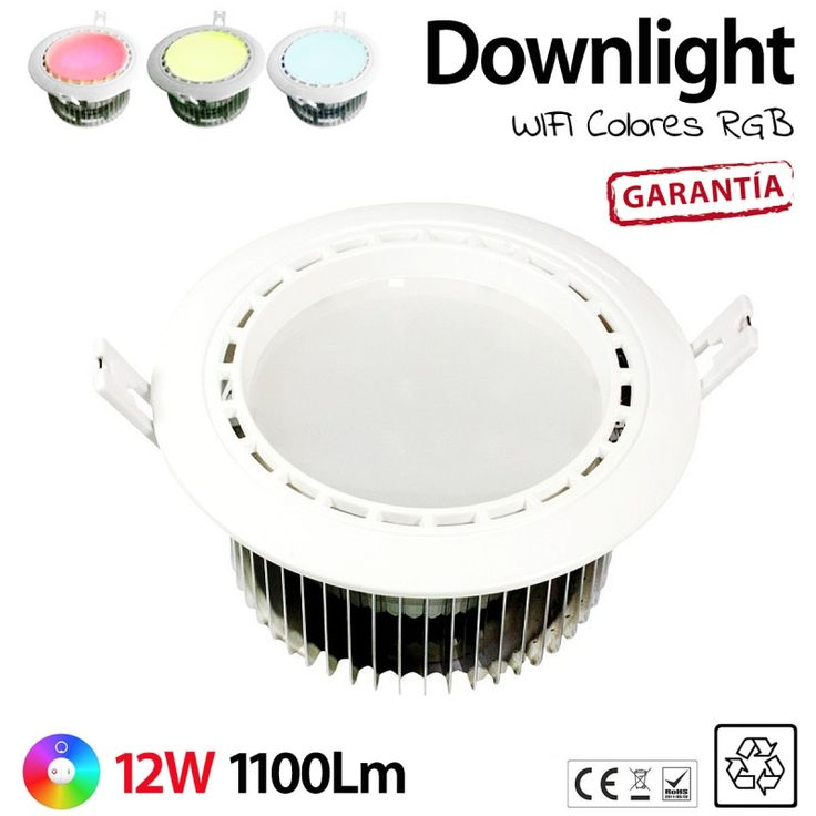 Mejores 45 im genes de iluminacion led tiras led wifi - Iluminacion led cocina downlight ...