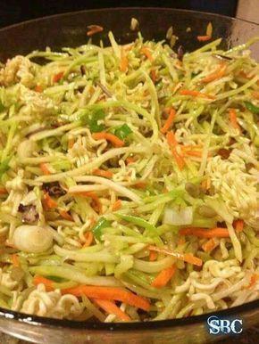 Ramon noodle salad