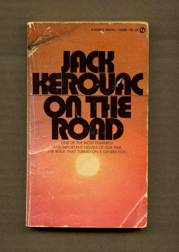 Vintage Jack Kerouac On the Road beatnik by LastHurrahEphemera
