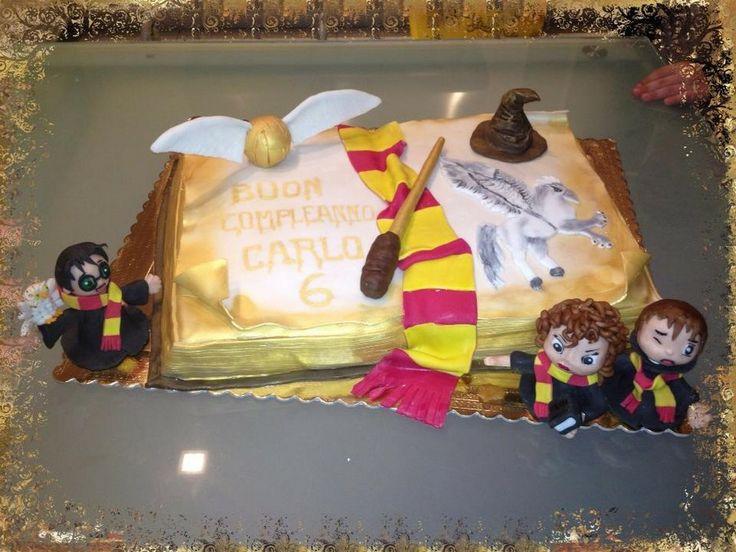 Teresa Campanile #cakedesign #harrypotter #cakebook