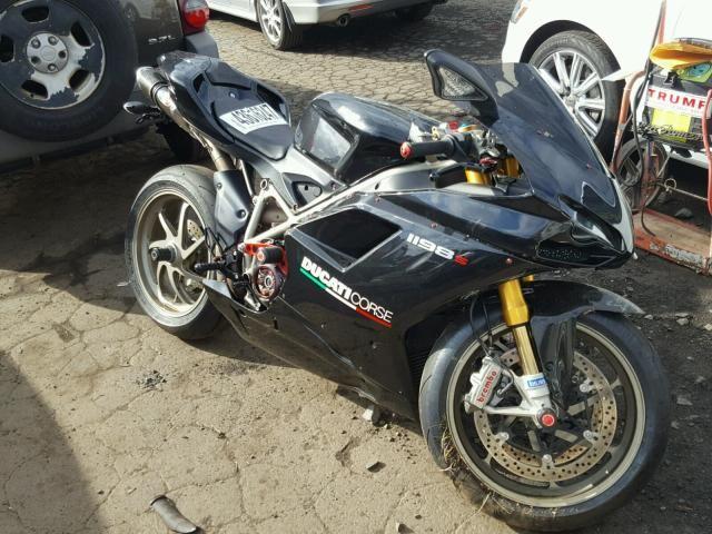 Salvage 2009 Ducati 1198 Base