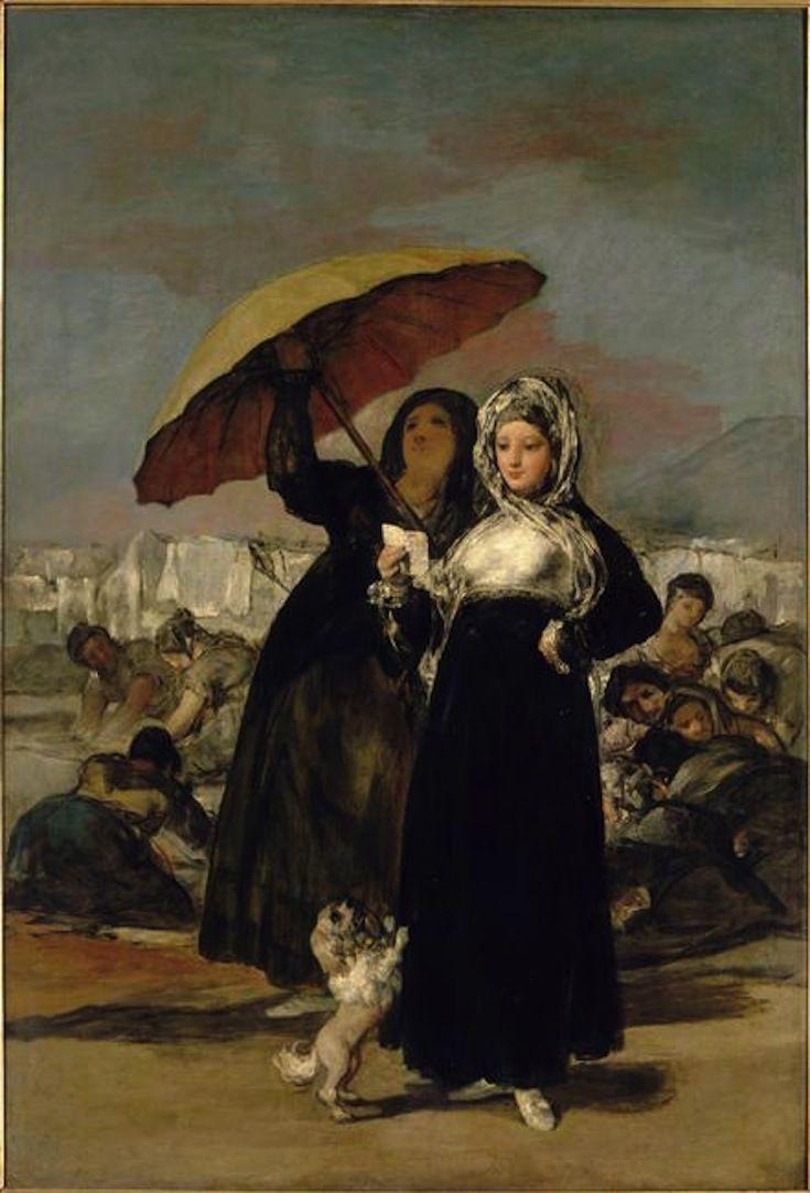 Las Jovenes by Francisco Goya b. 1746 ~Via Jeffrey Edel