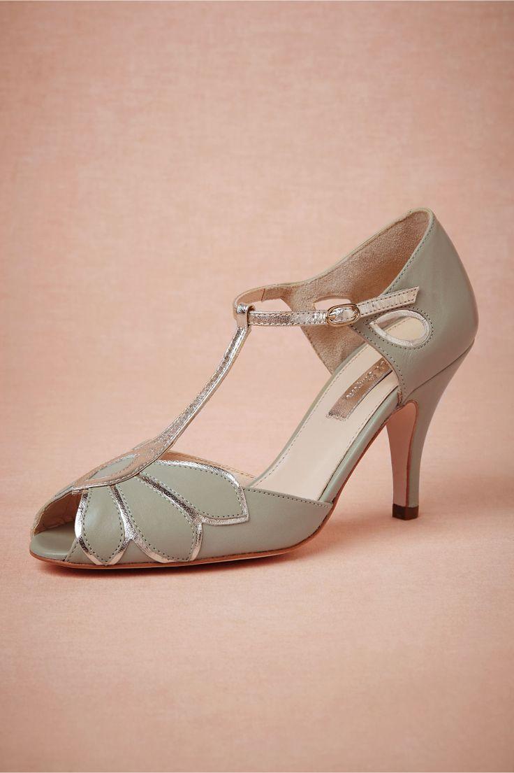 Bhldn Rachel Simpson Mimosa T Straps Wedding Shoes
