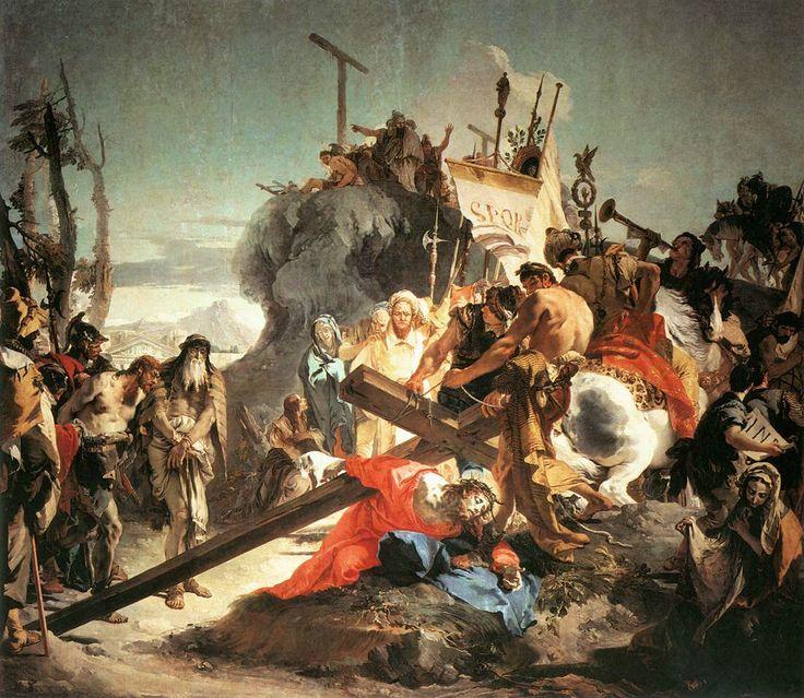 Giovanni Battista Tiepolo - Christ Bearing the Cross (1738)