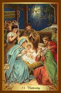 Перекрестки Таро - таролог Лина Айн: Карта-совет от колоды Christmas tarot - Рождение.
