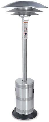 ES5000COMM Endless Summer Liquid Propane Patio Heater with Stainless Steel Construction and Multi-Spark Igniter Up to 40000 BTUs Triple Dome