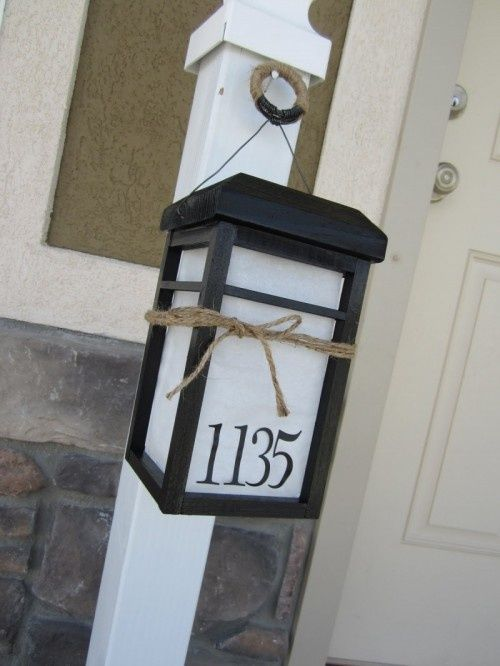 Best Signs And House Numbers Images On Pinterest House Number - Best creative house number ideas