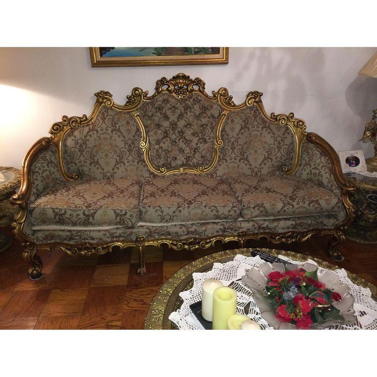 Superior 1980 Antique Victorian Style Living Room Set 0. HackbratenWohnzimmer ...