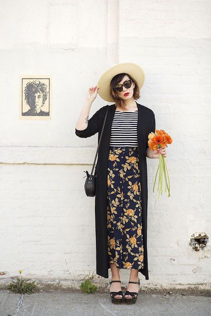 How to Rock the Maxi Skirt This Fall : My Fashion Cents waysify