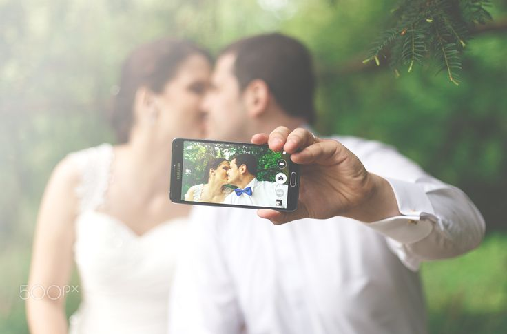 wedding selfie - null