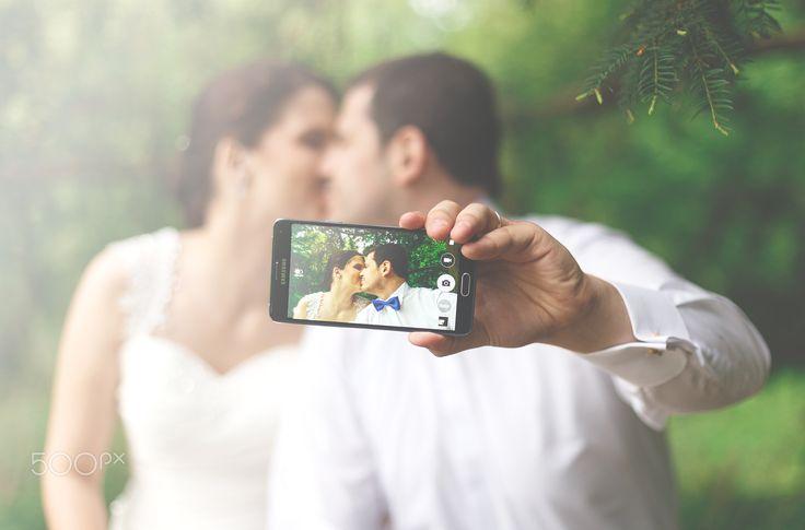 wedding selfie - null