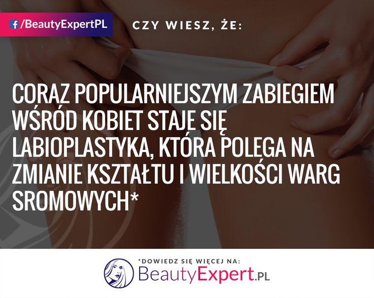 Coraz więcej kobiet nie wstydzi się mówić o tym problemie! :) #BeautyExpert #Labioplastyka #GinekologiaEstetyczna #OperacjePlastyczne #ChirurgiaPlastyczna