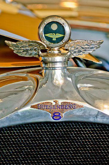 1923 Duesenberg Model A Touring Hood Ornament by Jill Reger