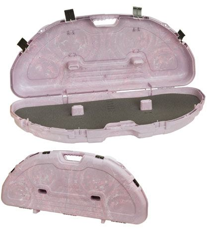 "Plano Protector Compact Bow Case 43.25""x19""x6.75"" Single Bow Pink"