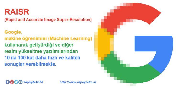 Google'dan, Yapay Zeka Destekli RAISR  #YapayZeka #yz #ArtificialIntelligence #ai #MachineLearning #Image #Resolution  Kaynak: http://www.chip.com.tr/haber/googledan-yapay-zeka-destekli-raisr_67348.html