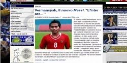 Media Italia: Andik Vermansyah Messi Masa Depan