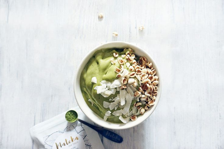 Now you can eat dessert for breakfast healthy, vegan, dairy & refined sugar free Matcha Nice-Cream