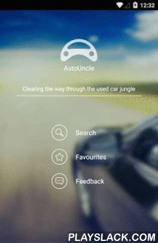"AutoUncle - Cheap Used Cars  Android App - playslack.com ,  AutoUncle gathers the entire used car market and makes it easy for you to quickly find a good deal by rating the price of every car.With the Autouncle app you can:- Search for used cars in: Germany, Denmark, Italy, Spain, Sweden, Poland, Portugal, Austria- Search for used cars gathered from the biggest used cars websites- See the cars rated from ""Super price"" to ""Expensive""- See how long cars have been for sale- Get a free market…"