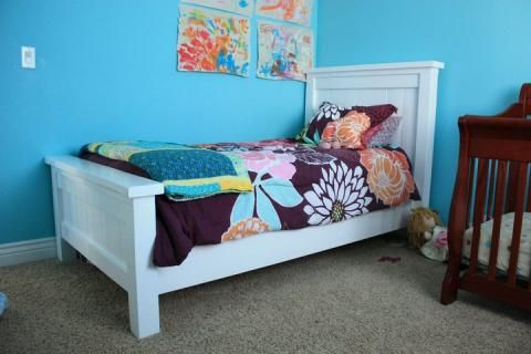 Best Ana White Build A Twin Farmhouse Bed Free And Easy Diy Project And Furniture Plans 400 x 300