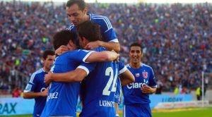 La Universidad de Chile golea a Colo Colo por 5-0 en la Fecha 14 del Torneo de apertura de Chile. #UdeChile