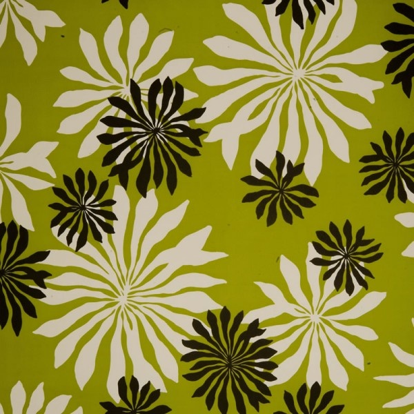 Fleur Lime Green Wallpaper, By Missprint, Maybe More Suited To Cushion  Covers, But