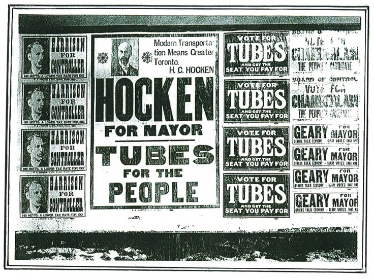Tubes for the People! -- from Ed Levy's newly released book on Toronto transit history -- http://levyrapidtransit.ca/