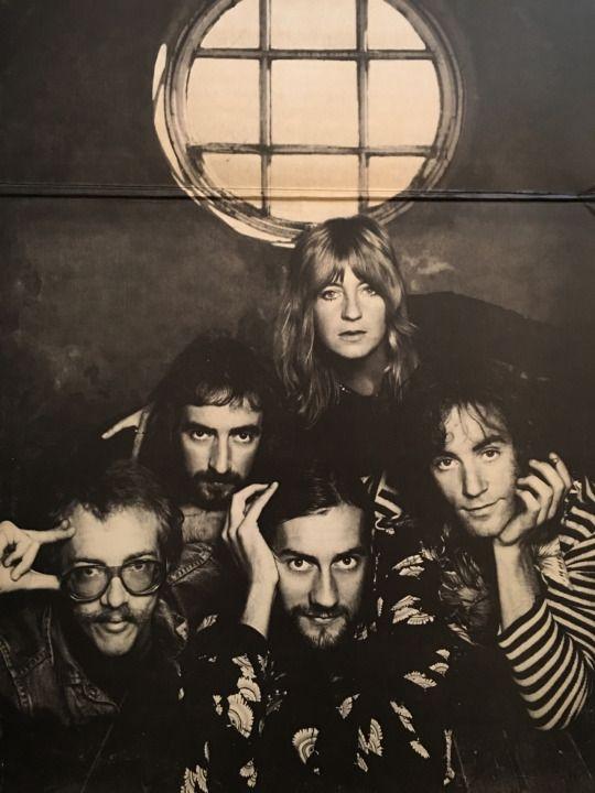 The BOB WELCH line up of Fleetwood Mac, circa 1973-1974.